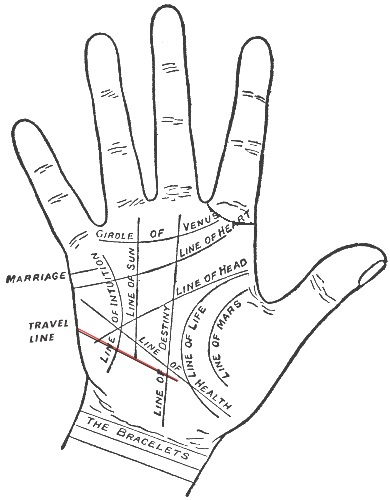 hand palm reading