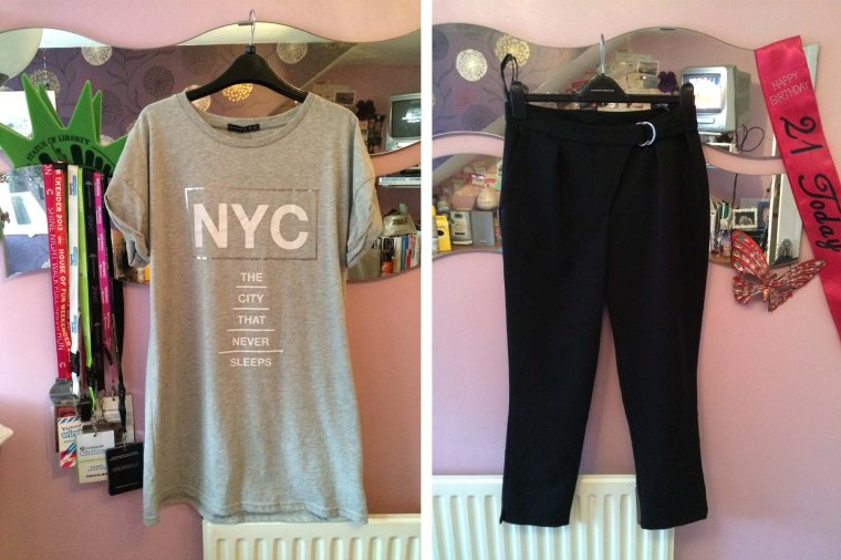 nyc dress and trousers